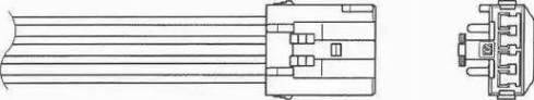 NGK 1559 - Лямбда-зонд, датчик кислорода avtodrive.by