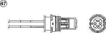 NGK 0216 - Лямбда-зонд, датчик кислорода avtodrive.by