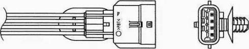 NGK 90276 - Лямбда-зонд, датчик кислорода avtodrive.by