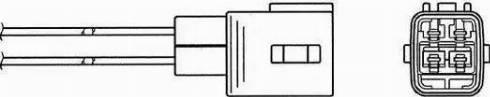 NGK 7954 - Лямбда-зонд, датчик кислорода avtodrive.by