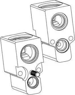 NRF 38342 - Расширительный клапан, кондиционер avtodrive.by