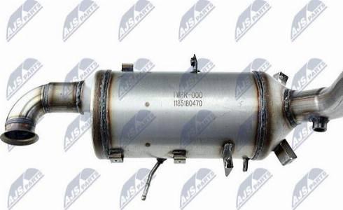 NTY DPF-FR-000 - Сажевый / частичный фильтр, система выхлопа ОГ avtodrive.by