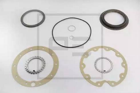 PE Automotive 011.091-00A - Комплект прокладок, планетарная колесная передача avtodrive.by