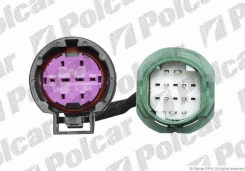 Polcar 5770099U - Кабельный комплект, основная фара avtodrive.by