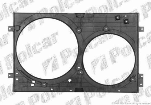 Polcar 692023-Q - Вентилятор, охлаждение двигателя avtodrive.by