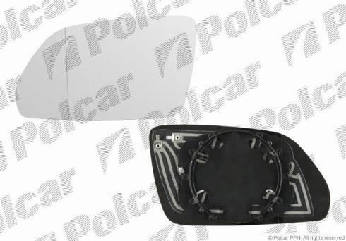 Polcar 6922546E - Наружное зеркало avtodrive.by