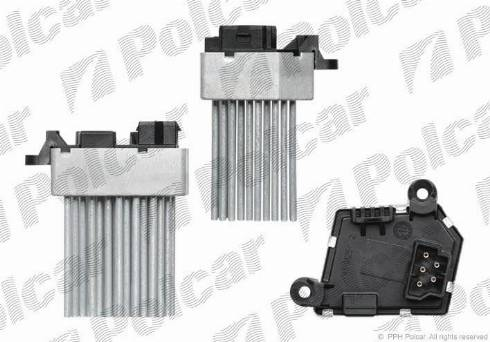 Polcar 2008KST1X - Блок управления, отопление / вентиляция avtodrive.by