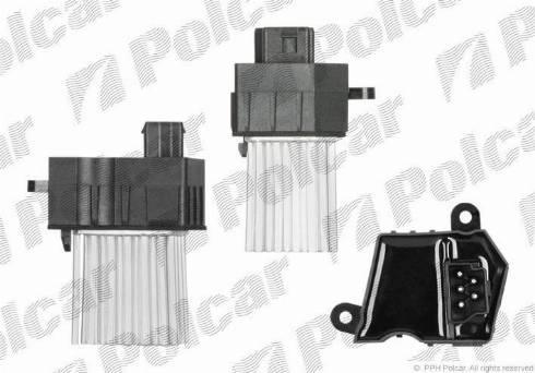 Polcar 2016KST1 - Блок управления, отопление / вентиляция avtodrive.by