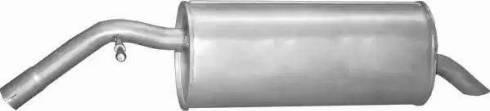 Polmo 19.216 - Глушитель выхлопных газов конечный avtodrive.by
