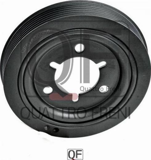Quattro Freni QF51A00005 - Ременный шкив, коленчатый вал avtodrive.by