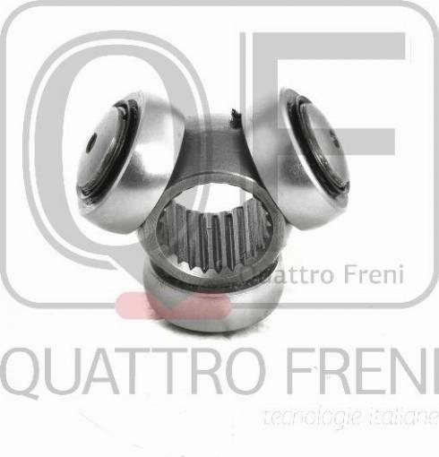 Quattro Freni QF00000101 - Муфта с шипами, приводной вал avtodrive.by