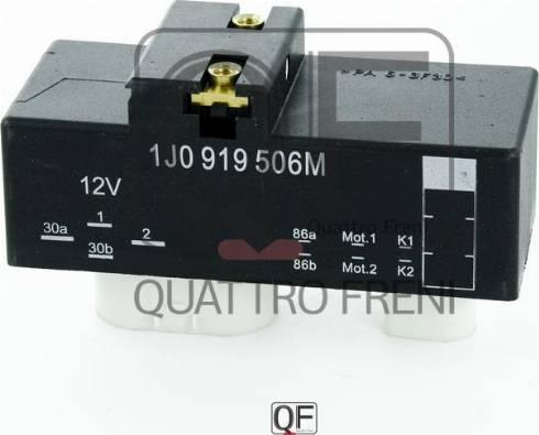 Quattro Freni QF25A00062 - Блок управления, эл. вентилятор (охлаждение двигателя) avtodrive.by