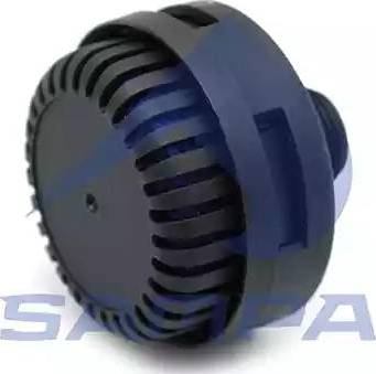 Sampa 092.334 - Глушитель шума, пневматическая система avtodrive.by