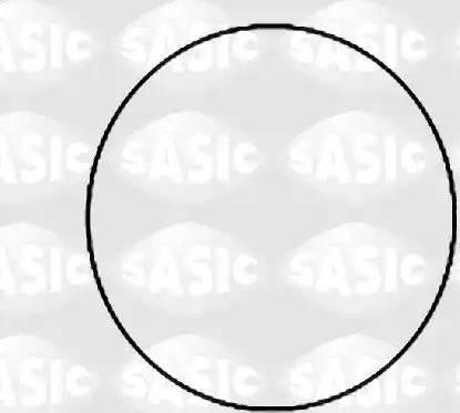 Sasic 1120780 - Комплект прокладок, гильза цилиндра avtodrive.by