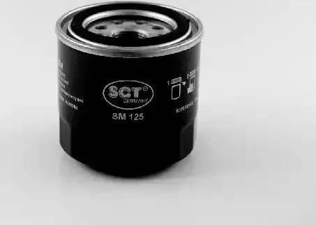 SCT Germany SM 125 - Масляный фильтр avtodrive.by