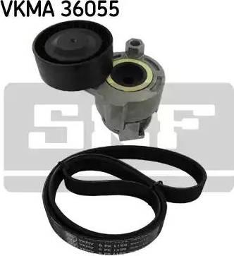 SKF VKMA36055 - Поликлиновый ременный комплект avtodrive.by