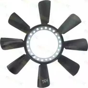 Thermotec D9W002TT - Крыльчатка вентилятора, охлаждение двигателя avtodrive.by