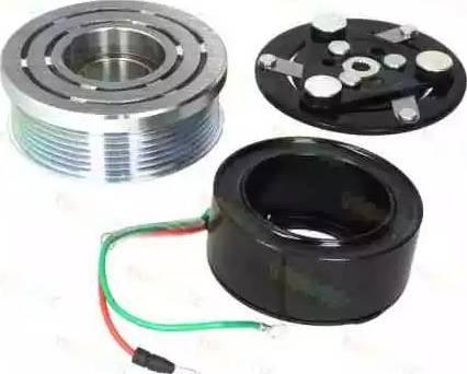 Thermotec KTT040153 - Электромагнитное сцепление, компрессор avtodrive.by