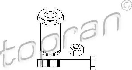 Topran 400 087 - Ремкомплект, направляющий, маятниковый рычаг avtodrive.by