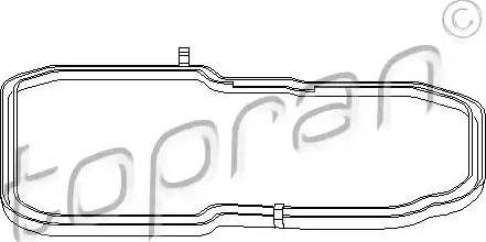Topran 400 132 - Прокладка, масляный поддон автоматической коробки передач avtodrive.by