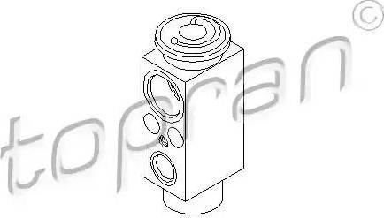 Topran 407 785 - Расширительный клапан, кондиционер avtodrive.by