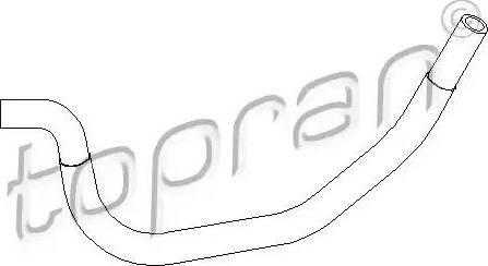 Topran 501558 - Гидравлический шланг, рулевое управление avtodrive.by