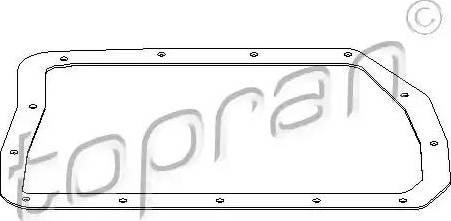 Topran 501 746 - Прокладка, масляный поддон автоматической коробки передач avtodrive.by