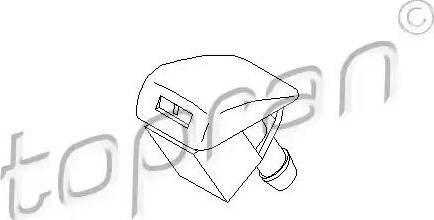 Topran 109 976 - Распылитель воды для чистки, система очистки окон avtodrive.by