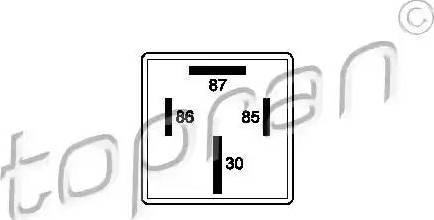 Topran 109 544 - Многофункциональное реле avtodrive.by