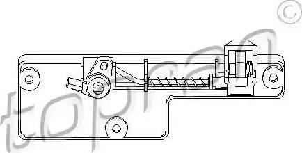 Topran 109 078 - Замок вещевого ящика avtodrive.by