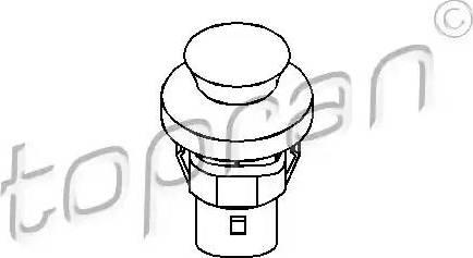 Topran 104 035 - Выключатель, контакт двери avtodrive.by