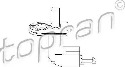 Topran 108 887 - Выключатель, контакт двери avtodrive.by