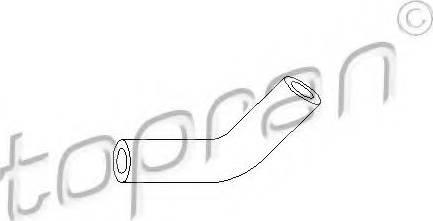 Topran 103 405 586 - Вакуумный провод, усилитель тормозного механизма avtodrive.by