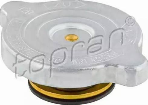 Topran 103 385 - Крышка, радиатор avtodrive.by