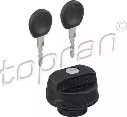 Topran 102 746 - Крышка, топливной бак avtodrive.by