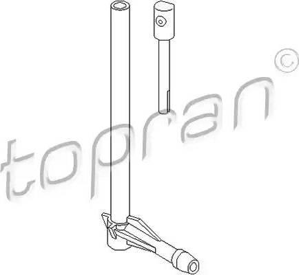 Topran 107 296 - Распылитель воды для чистки, система очистки окон avtodrive.by