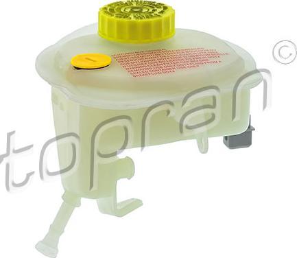 Topran 114 278 - Компенсационный бак, тормозная жидкость avtodrive.by