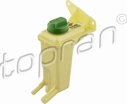 Topran 110 689 755 - Компенсационный бак, гидравлического масла усилителя руля avtodrive.by