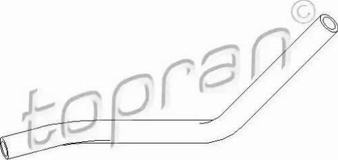 Topran 111980 - Гидравлический шланг, рулевое управление avtodrive.by