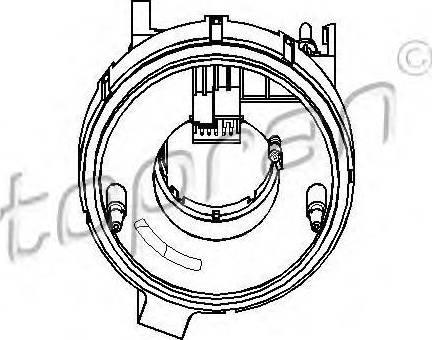 Topran 112409755 - Датчик угла поворота руля avtodrive.by