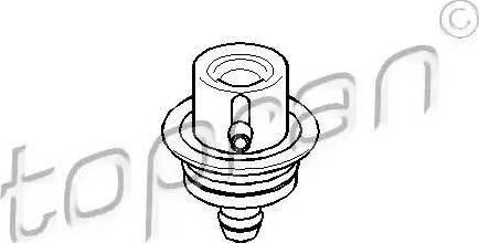 Topran 108 125 - Регулятор давления подачи топлива avtodrive.by