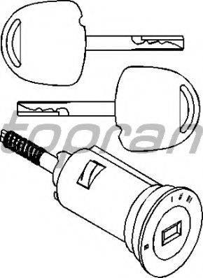 Topran 205166755 - Замок, замок-выключатель avtodrive.by
