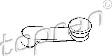 Topran 206 049 - Ручка стеклоподъемника avtodrive.by