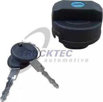 Trucktec Automotive 07.38.001 - Крышка, топливной бак avtodrive.by