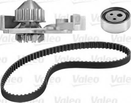 Valeo 614545 - Водяной насос + комплект зубчатого ремня avtodrive.by