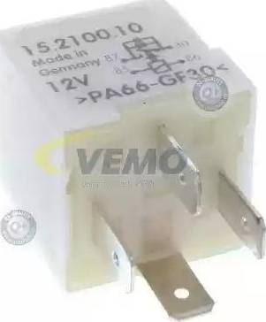Vemo V15-71-0010 - Реле, продольный наклон шкворня вентилятора avtodrive.by
