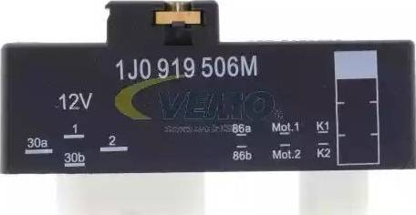 Vemo V15-71-0035 - Реле, продольный наклон шкворня вентилятора avtodrive.by