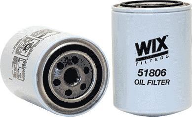 WIX Filters 51806 - Фильтр, Гидравлическая система привода рабочего оборудования avtodrive.by