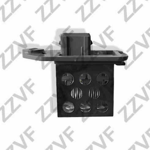 ZZVF ZVK353 - Сопротивление, реле, вентилятор салона avtodrive.by